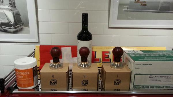 Custom tamp trophies.