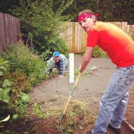 Homes First Thurston County Volunteer Day 2012
