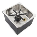 """Counter Top Rinser 6""""x6""""x2"""""""