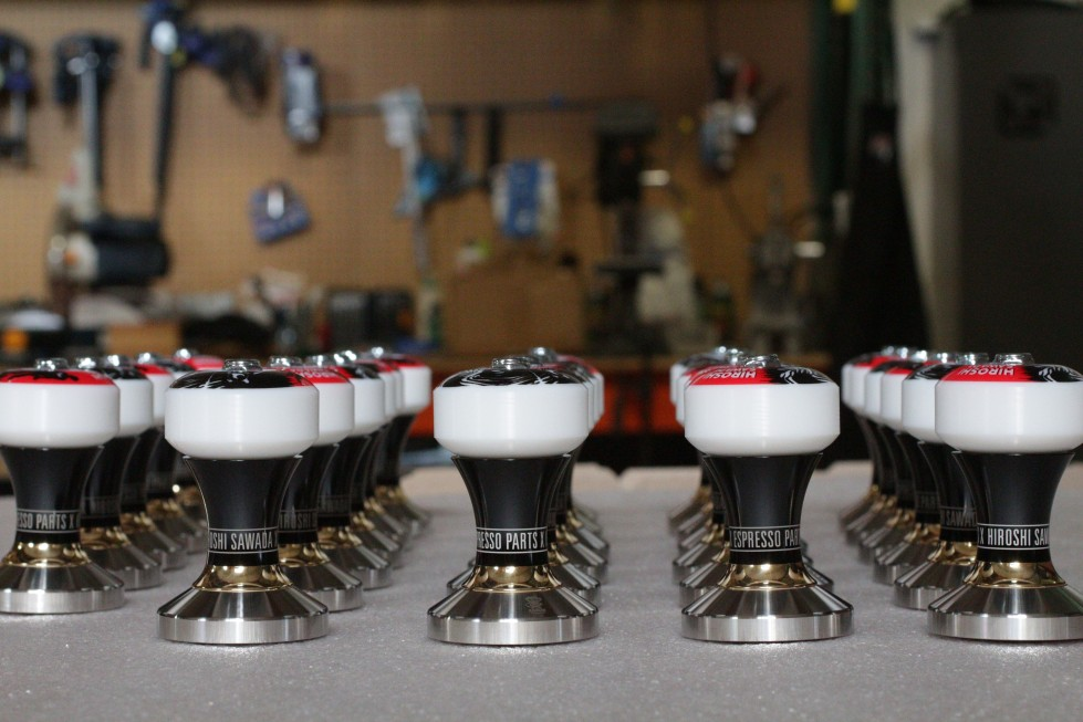 Tampers in the Custom Shop